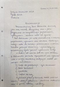 Referencje Justyna Stachowiak-Hołub / Jacek Hołub